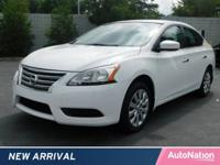 This CERTIFIED PREOWNED Sentra passed Nissan's rigorous