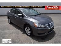 Options:  2015 Nissan Sentra S|**Carfax One