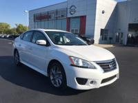 SR trim. CARFAX 1-Owner, Nissan Certified, Superb