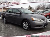 Outstanding design defines the 2015 Nissan Sentra! Pure