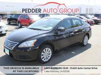 CVT with Xtronic Clean CARFAX. Super Black 2015 Nissan