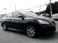 2015 Nissan Sentra SR Black CVT with Xtronic, ABS