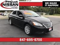 2015 Nissan Sentra S CARFAX One-Owner.McGrath Nissan is