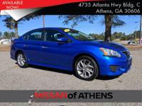 Come see this 2015 Nissan Sentra SR. Its Variable