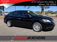 Check out this 2015 Nissan Sentra SV. Its Variable