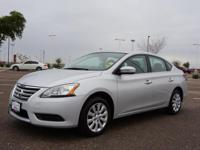 This 2015 Nissan Sentra SV boasts features like push