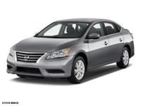 Don't miss out on this 2015 Nissan Sentra 4DR SDN