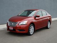 2015 Sentra Sedan with Automatic Transmission and less