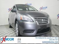 2015 Nissan Sentra S CVT with Xtronic, Charcoal