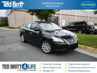 ***SMART WHEELS LOCATION***   Sentra SV, 4D Sedan, 1.8L