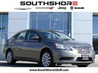 CARFAX One-Owner. Clean CARFAX. 2015 Nissan Sentra SV