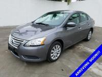 NON-SMOKER!, CLEAN CARFAX!, And OIL CHANGED. Sentra SV,