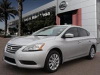 Get ready to go for a ride in this 2015 Nissan Sentra