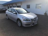 This outstanding example of a 2015 Nissan Sentra S is