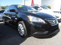 CarFax 1-Owner, LOW MILES, This 2015 Nissan Sentra S