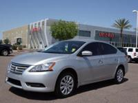 For a smoother ride, opt for this 2015 Nissan Sentra S