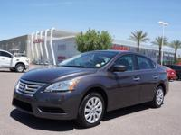 For a smoother ride, opt for this 2015 Nissan Sentra SV