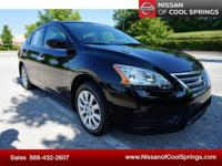 This Sentra is Nissan Certified Pre-Owned and is a one