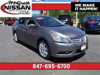 2015 Nissan Sentra SLMcGrath Nissan is located at 945