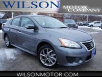 CARFAX One-Owner. Clean CARFAX. Gray 2015 Nissan Sentra