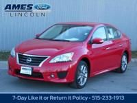 Exuding sporty sophistication, our 2015 Nissan Sentra