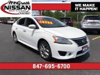 2015 Nissan Sentra SR CARFAX One-Owner. Leather Heated