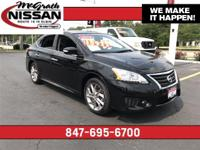 2015 Nissan Sentra SR CARFAX One-Owner. Clean Vehicle