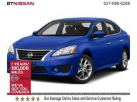 One Owner, Clean Vehicle History Report, Sentra SR, 4D