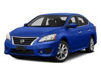 Options:  2015 Nissan Sentra Sr Black/ V4 1.8 L