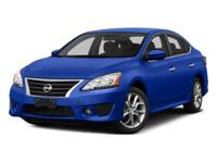 2015 Nissan Sentra  CARFAX One-Owner. CVT with Xtronic,