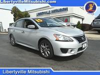 Options:  2015 Nissan Sentra Sr|Silver|Carfax