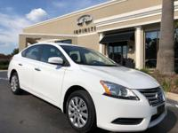 2015 Nissan Sentra SV Fresh Powder on Charcoal