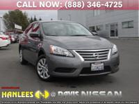 Options:  2015 Nissan Sentra Sv|Gray|Check Out This
