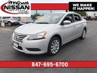 2015 Nissan Sentra SV CARFAX One-Owner. Clean Vehicle