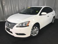 Clean CARFAX. Fresh Powder 2015 Nissan Sentra SV FWD