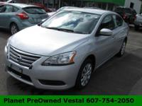 Stunning inside and out, our 2015 Nissan Sentra SV in
