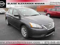 2015 Nissan Sentra SV Williamsport area. BLUETOOTH,