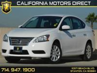 Options:  2015 Nissan Sentra Sv|Carfax 1-Owner|2 12V Dc