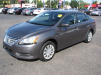 The Nissan Sentra is a mid-sized sedan. Some specs are