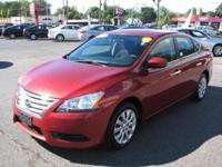 The 2015 Nissan Sentra is a mid-sized sedan. Some specs