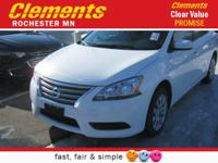 Options:  2015 Nissan Sentra Sv|Front Wheel Drive|Am/Fm