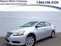 *This ONE OWNER Nissan Sentra can be yours today!**1.8L