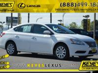 2015 Nissan Sentra SV CARFAX One-Owner. Concerned about