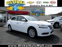 Make easy payments on this budget priced Nissan Sentra