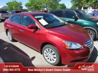 Options:  2015 Nissan Sentra Sv|Sv 4Dr Sedan|Sv