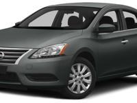 Options:  2015 Nissan Sentra Sv|Miles: 37414Color: Gun