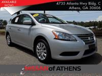 Come see this 2015 Nissan Sentra SV. Its Variable