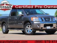 2015 Nissan TitanCertified. CARFAX One-Owner.Could this