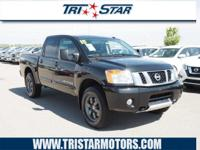 For a smoother ride, opt for this 2015 Nissan Titan Pro
