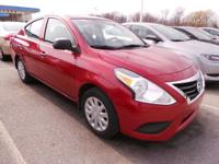 Look at this 2015 Nissan Versa . Its transmission and
